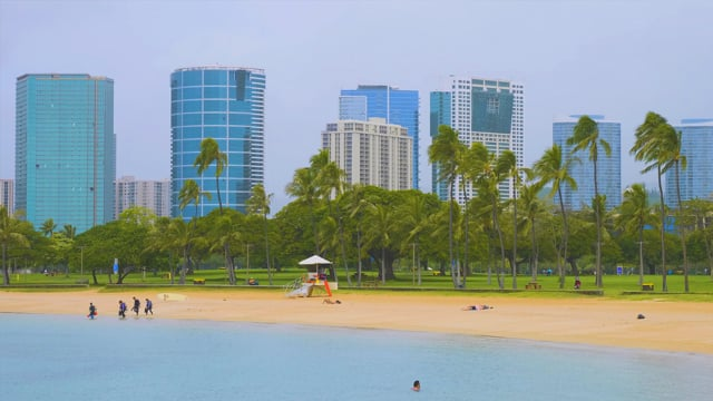 Hawaii - Oahu Beaches. Part 1
