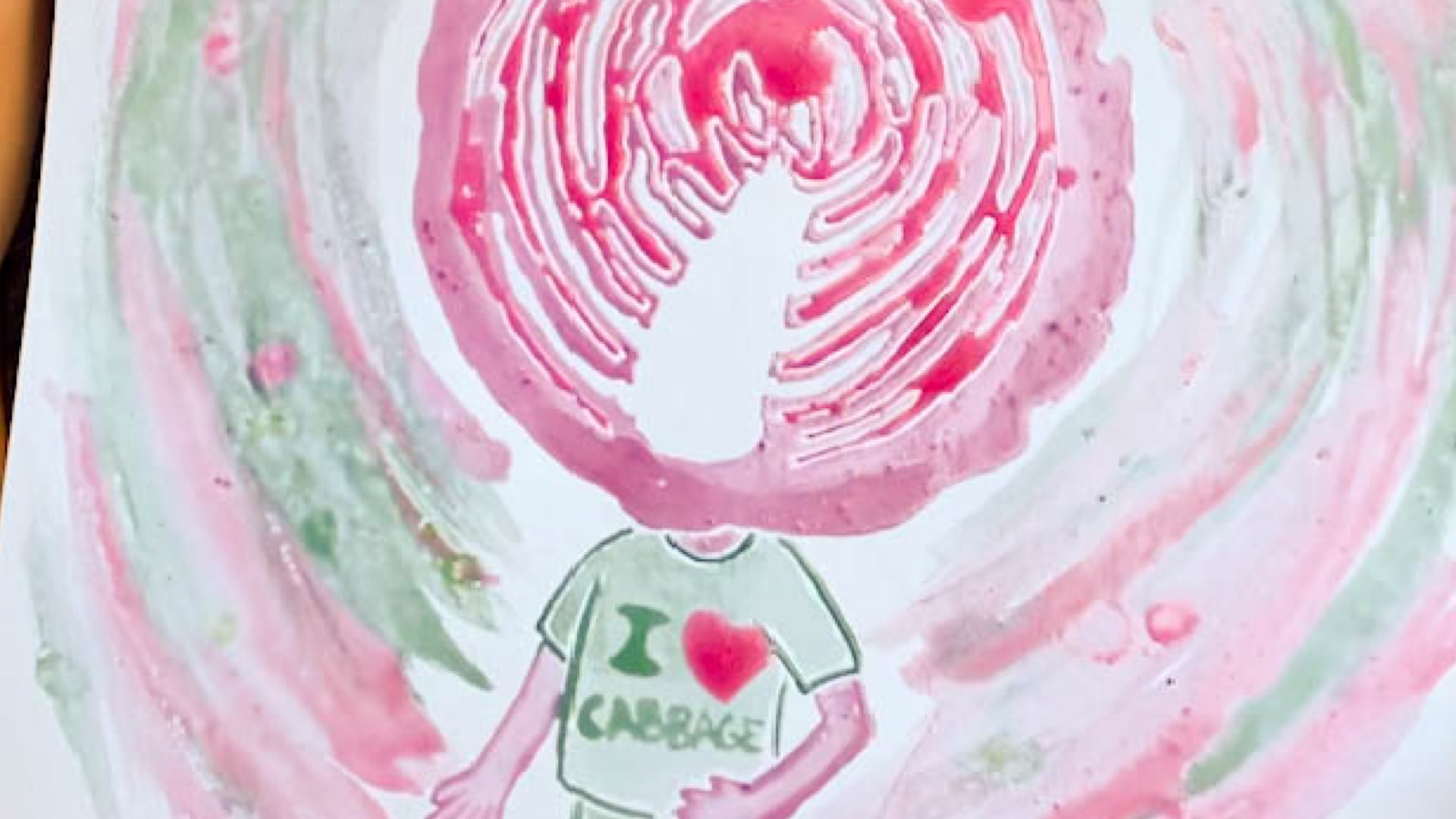 Make Paint out of Cabbage!