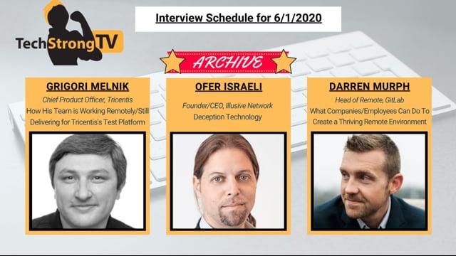 TechStrong TV - June 1, 2020