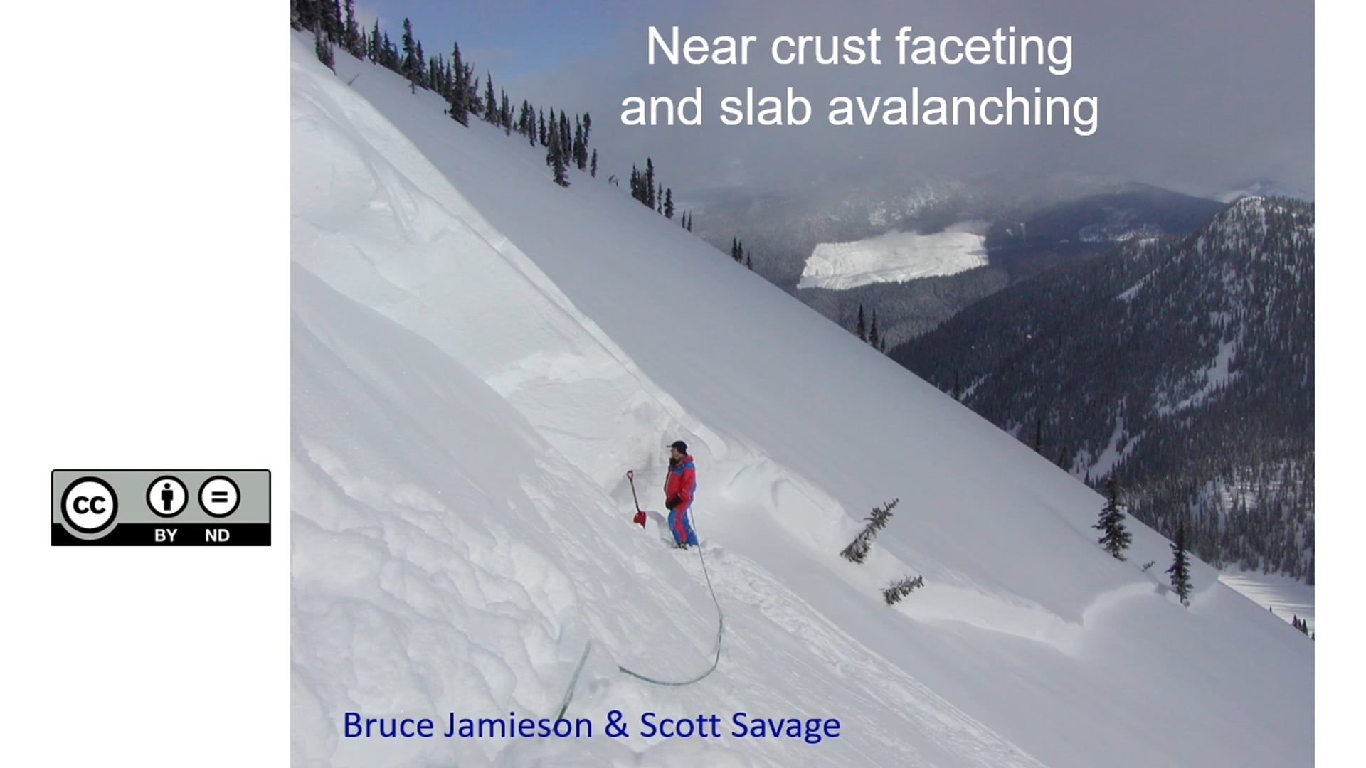 Near crust faceting and slab avalanching