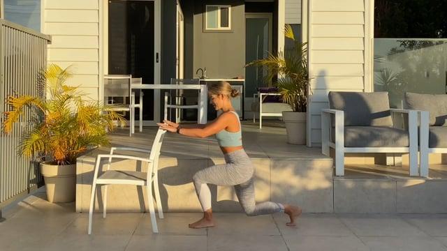 20min barre workout calves and hamstring focus