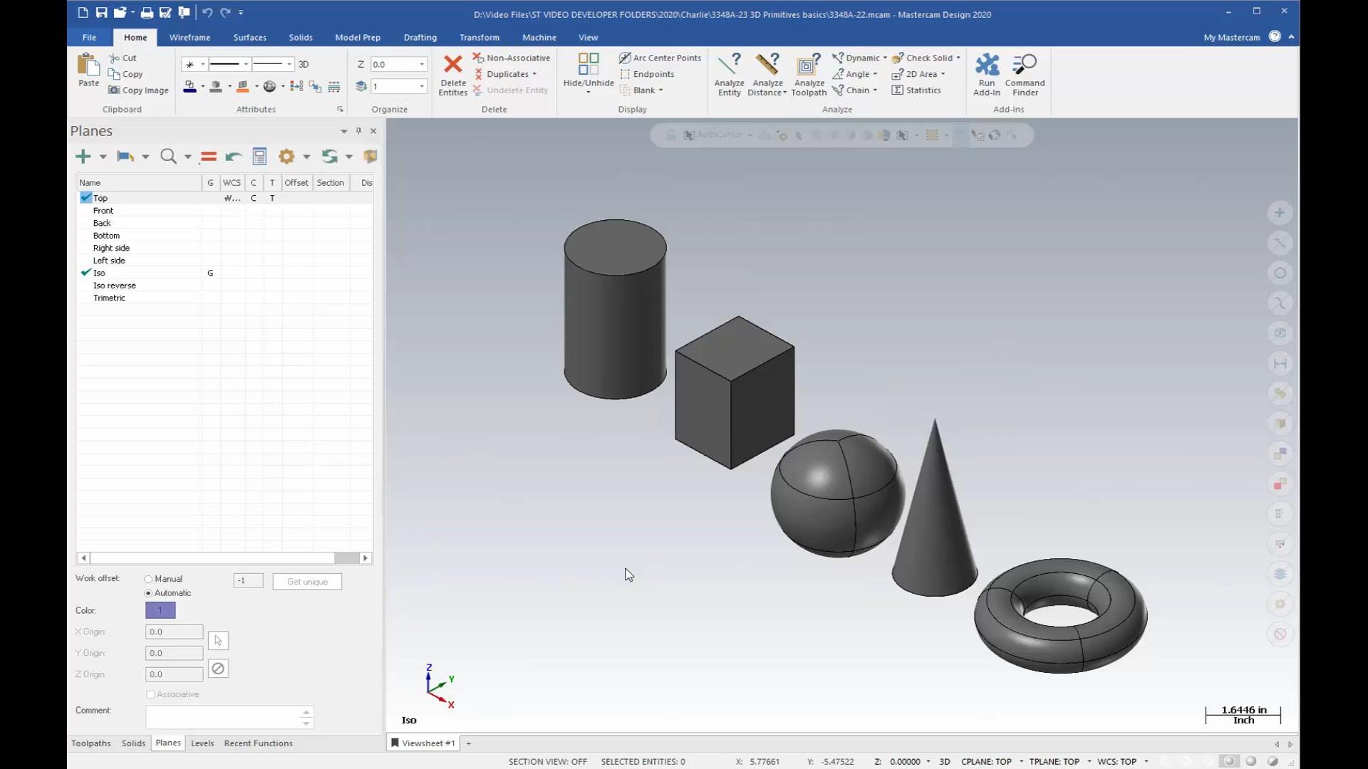 3D Geometry - Solids