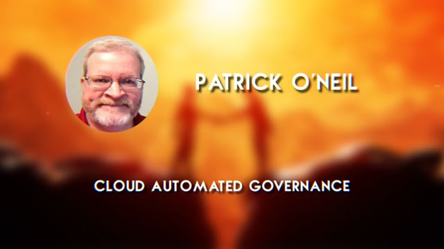 Patrick ONeil - Cloud Automated Governance