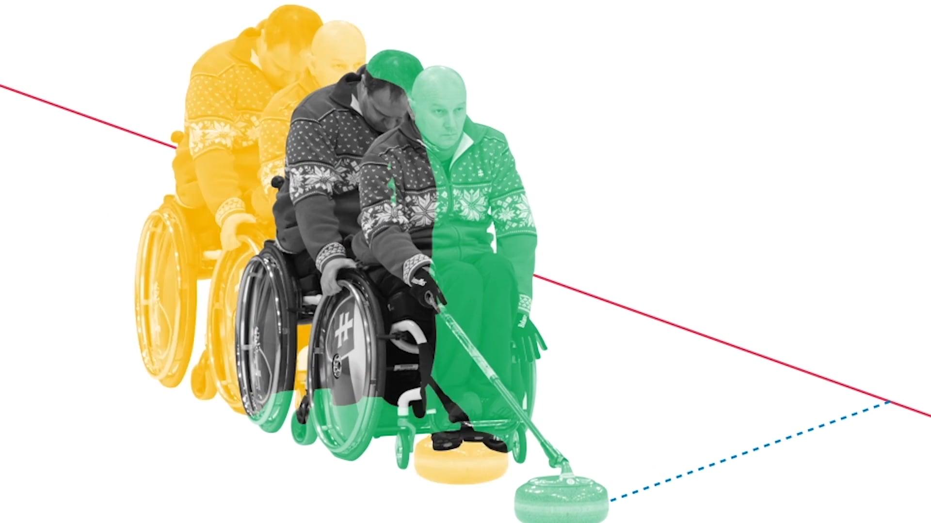 휠체어컬링 (Wheelchair Curling)
