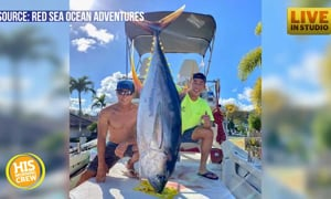 Fishermen have a big catch for a good cause!