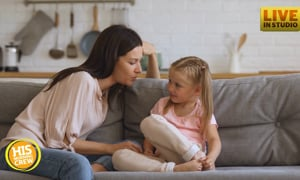 How do you talk to your kids about these heavy subjects we're dealing with today?