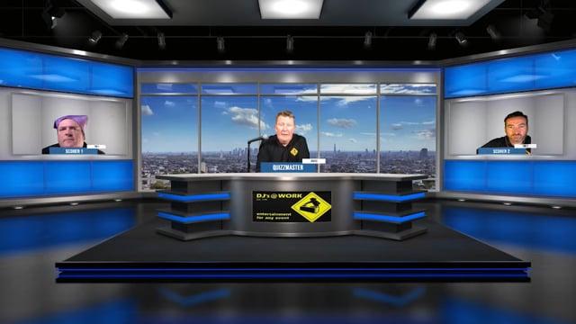 Virtual Trivia Show with DJs @ Work