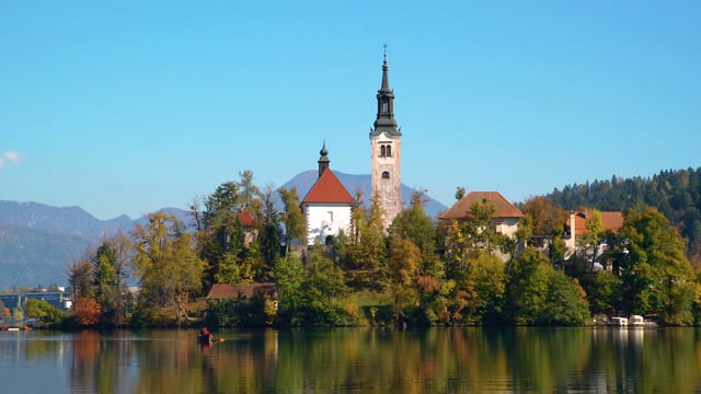 Bled Lake in Slovenia- Short Preview