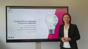 Zeitgemäßes und digitales Finanzmanagement - vom Beleg bis zum Controlling