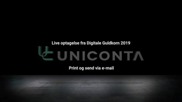 Print og send via e-mail fra Uniconta.