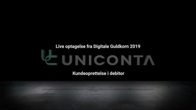 Kundeoprettelse i debitor i Uniconta.