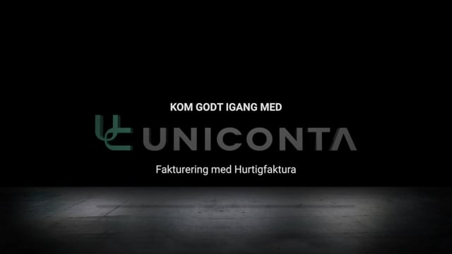 Fakturering med Hurtigfaktura