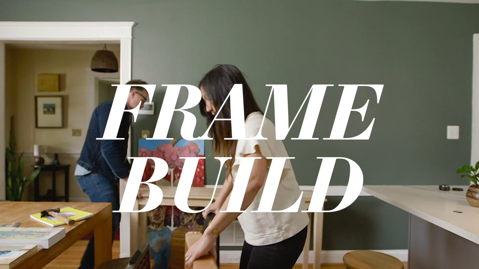 HOW WE HOMESY: Put a Frame on It!