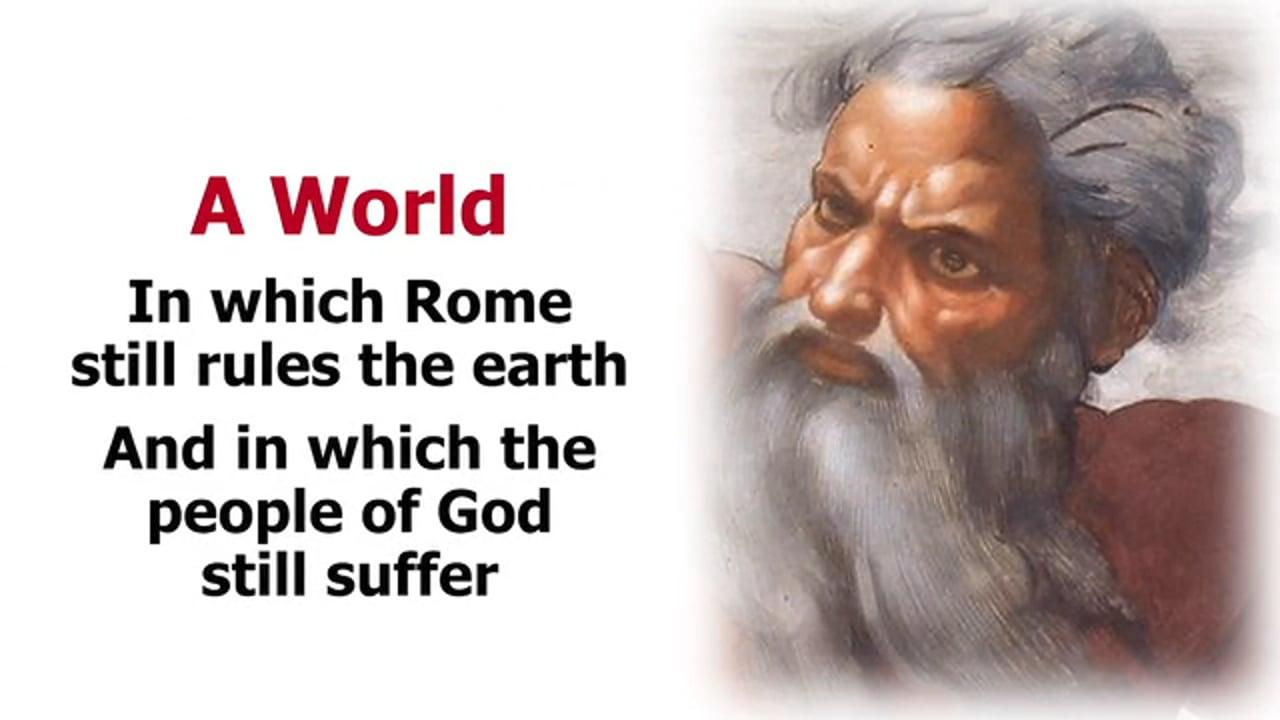 Revelation 21 – New Heaven, New Earth, New Jerusalem Descending