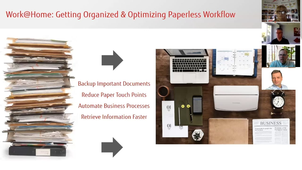 Increase Productivity with Fujitsu Document Scanners and Software