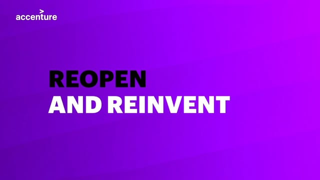 Accenture - Reopen and Reinvent