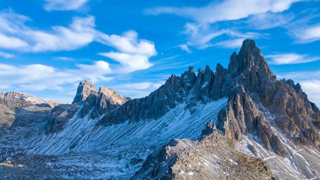 Fall in the Alps Italian Dolomites