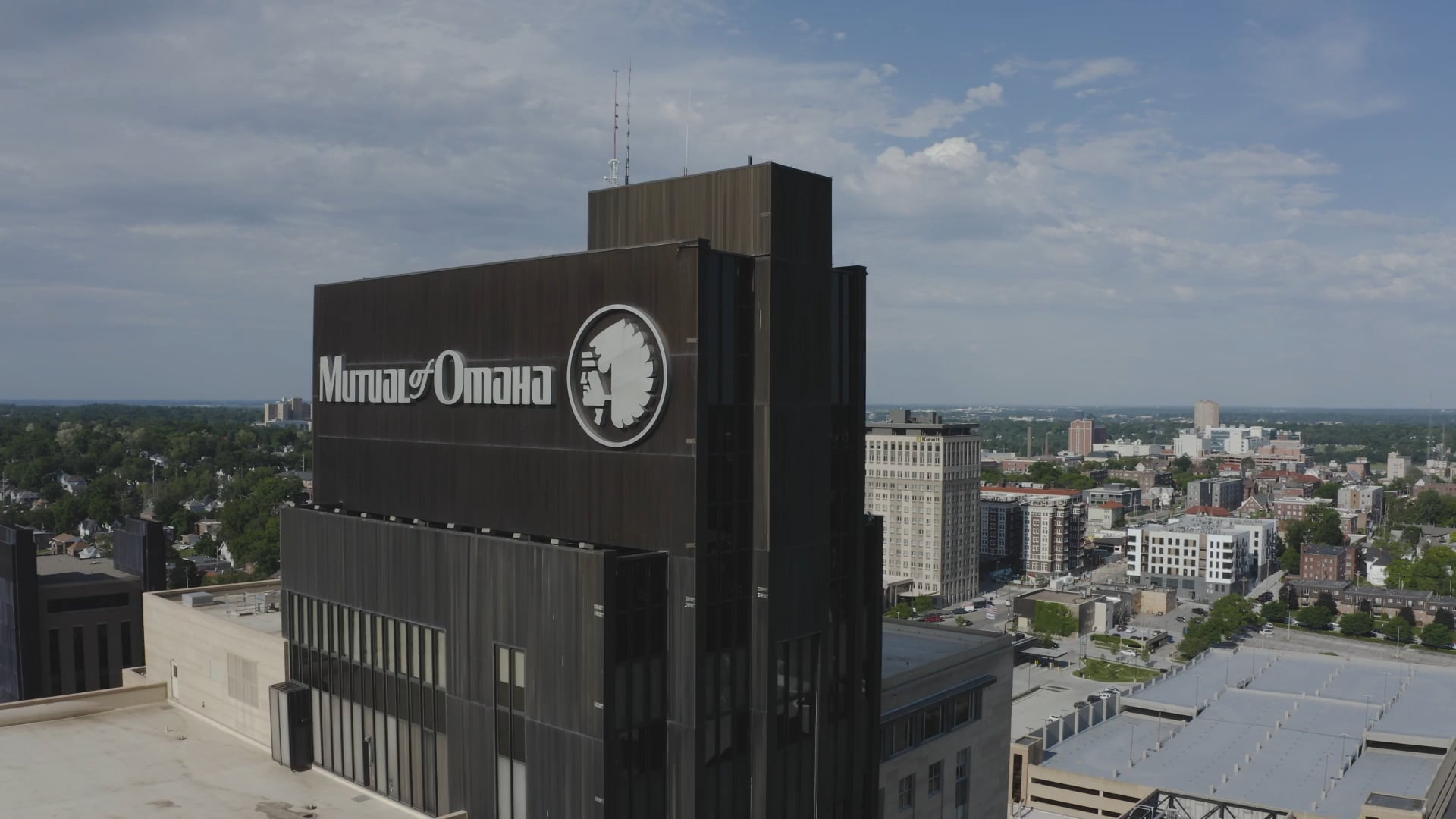 Mutual of Omaha Flag Raise