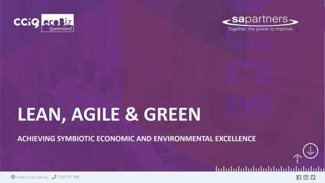 Agile, lean and green