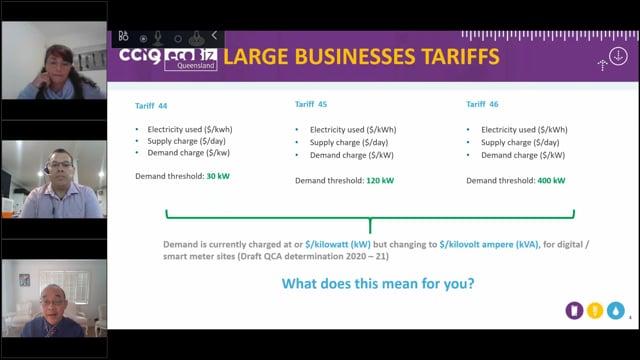 Ergon's kVA vs kW demand tariffs explained