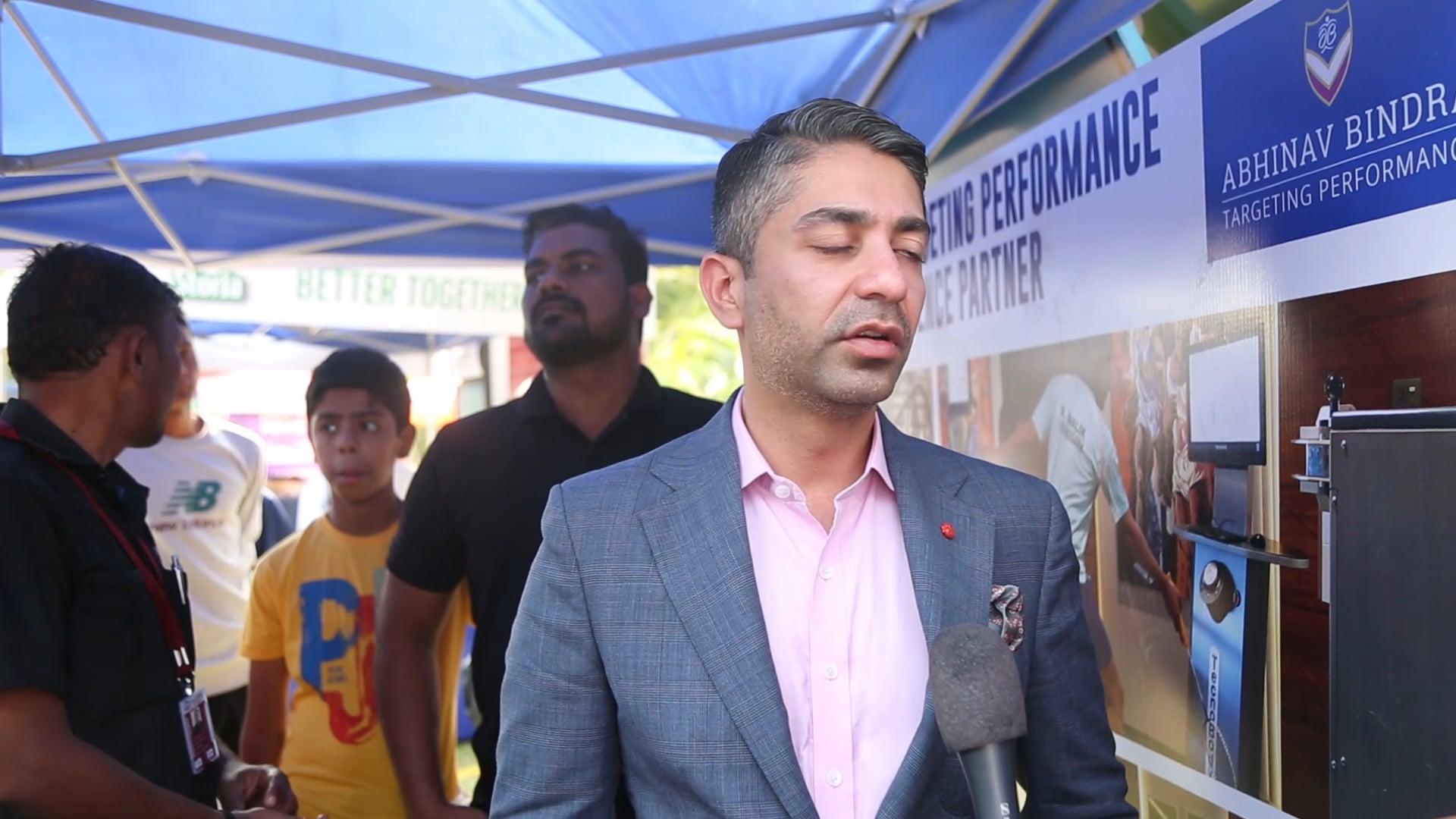 Abhinav Bindra at the SFA Championship Mumbai 2018