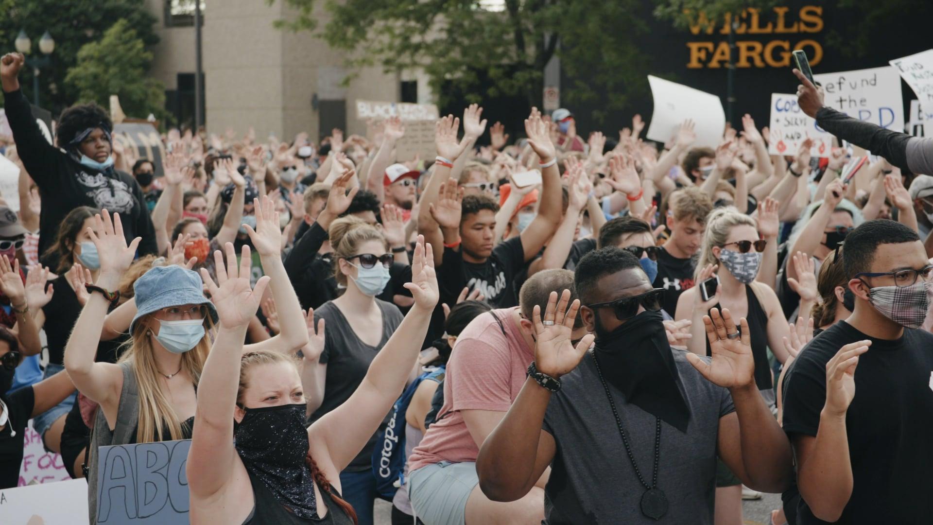 Cedar Rapids Protest