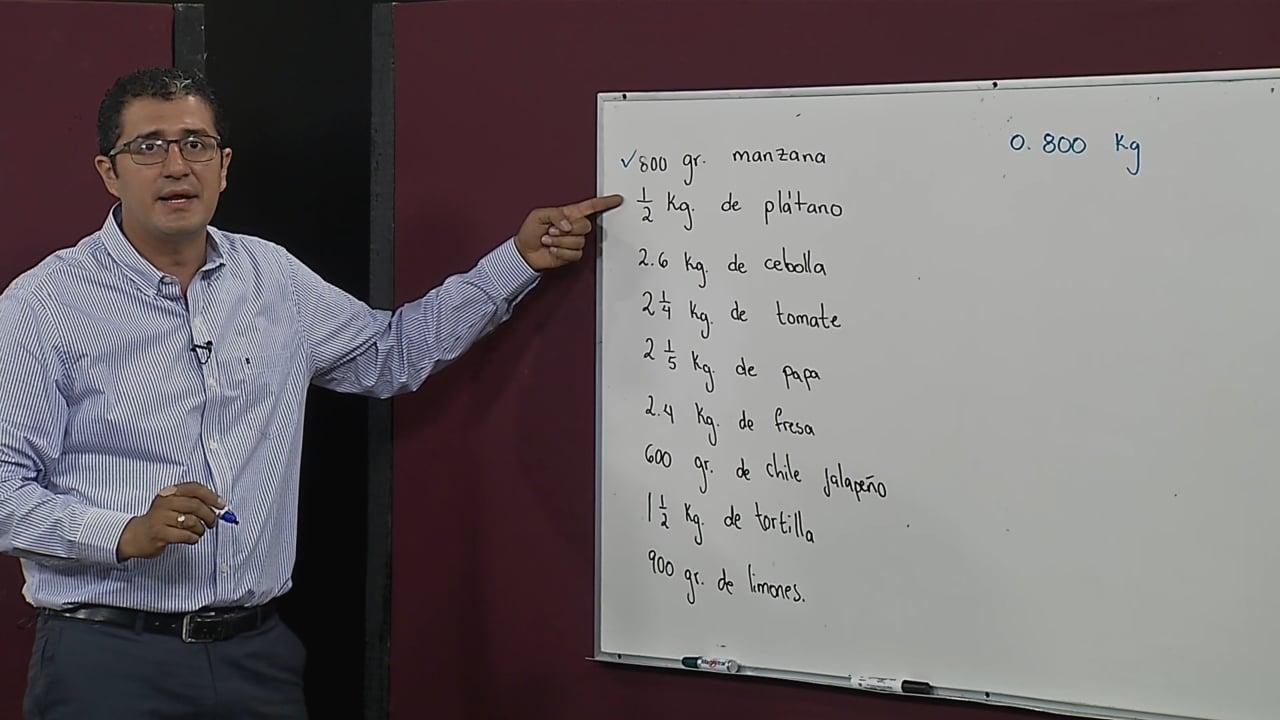 Adición y sustracción de números decimales