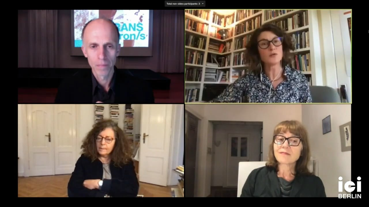 Discussion with Jennifer Fay, Astrid Deuber-Mankowsky, Gertrud Koch, and Christoph Holzhey