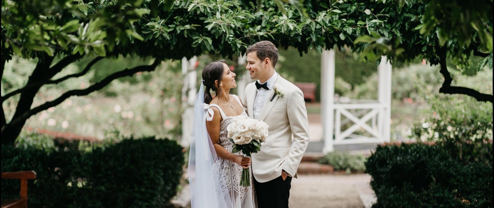 Teagan & Jesse Wedding Video Filmed at Melbourne, Victoria