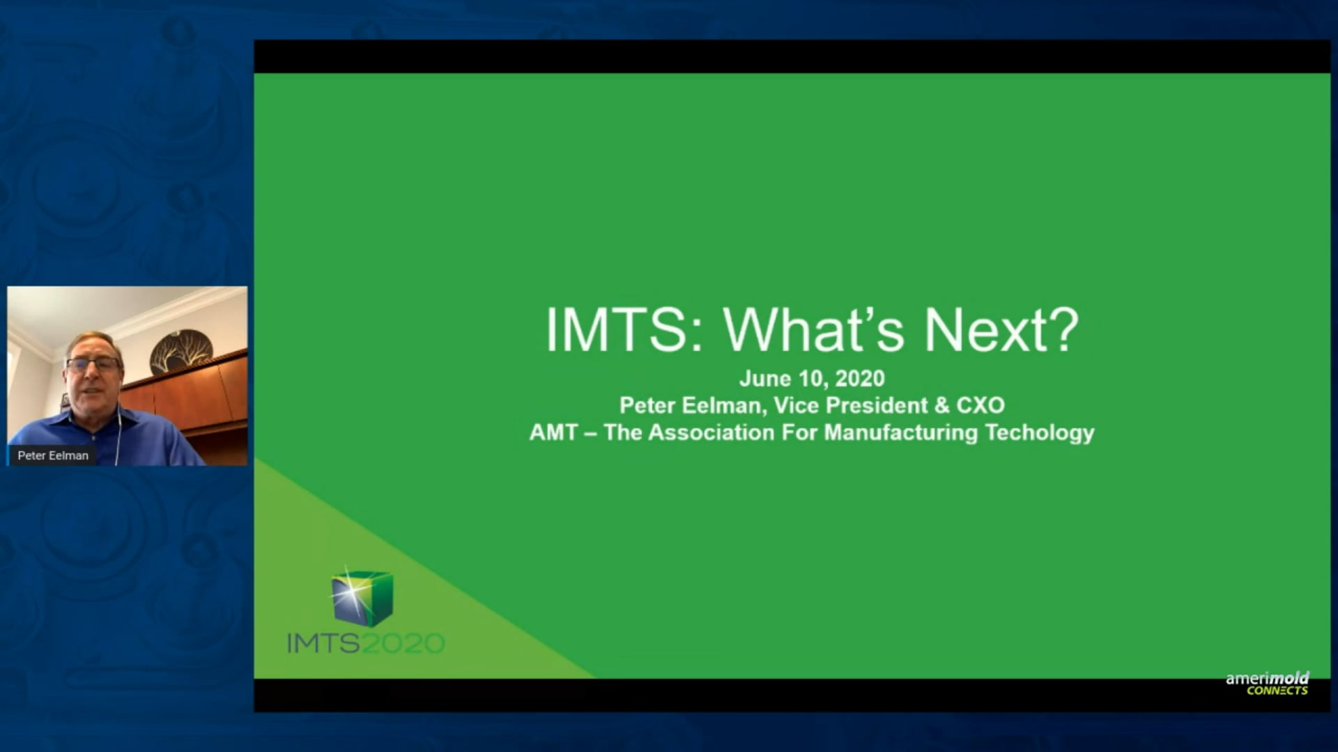 AMT: 2020 Metalworking Industry Outlook and IMTS