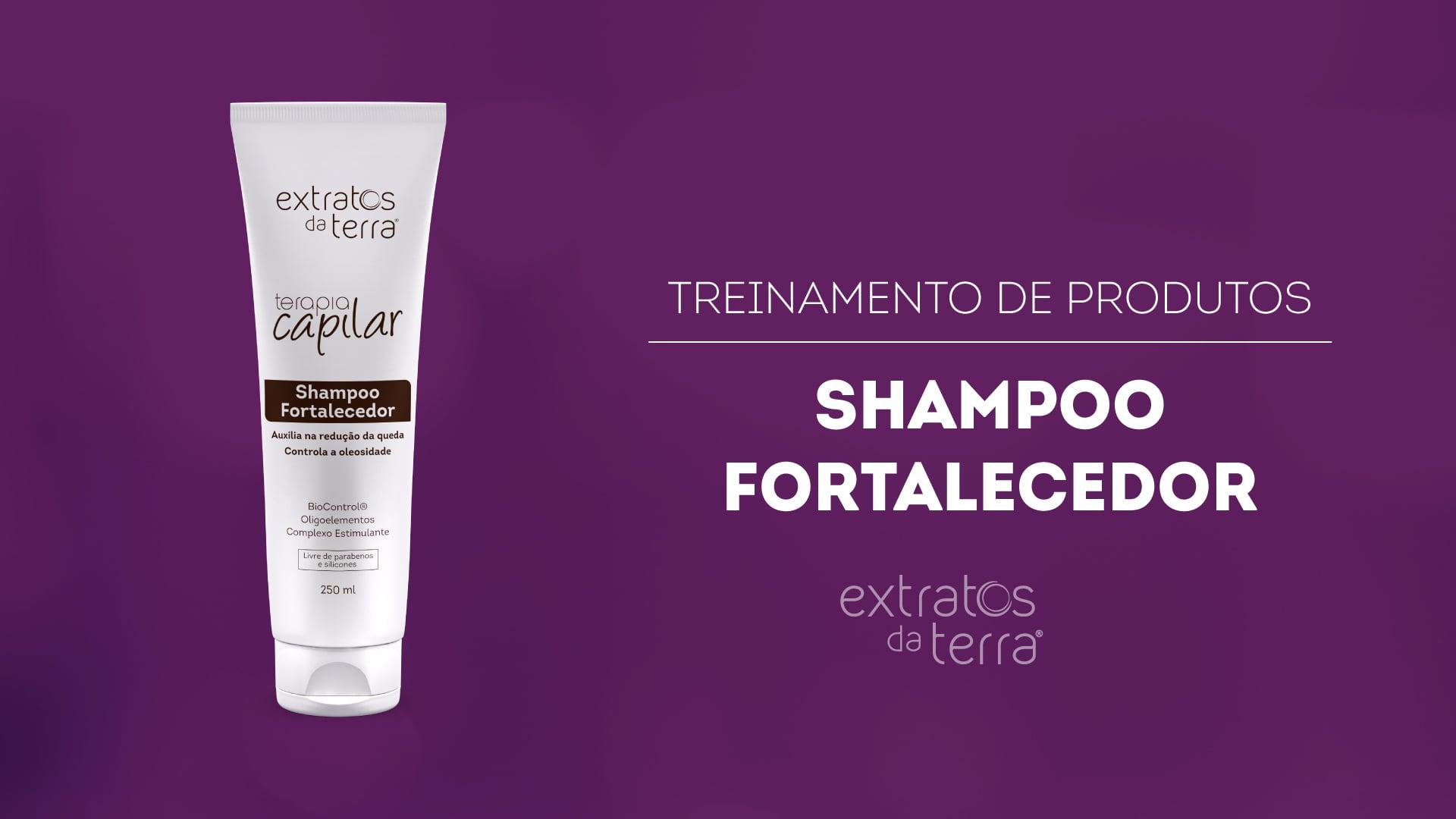 Conhecendo o Produto - Terapia Capilar Shampoo Fortalecedor