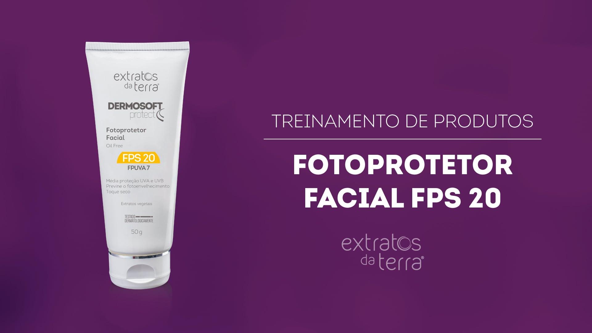 Conhecendo o Produto - Dermosoft Protect Fotoprotetor Facial FPS 20
