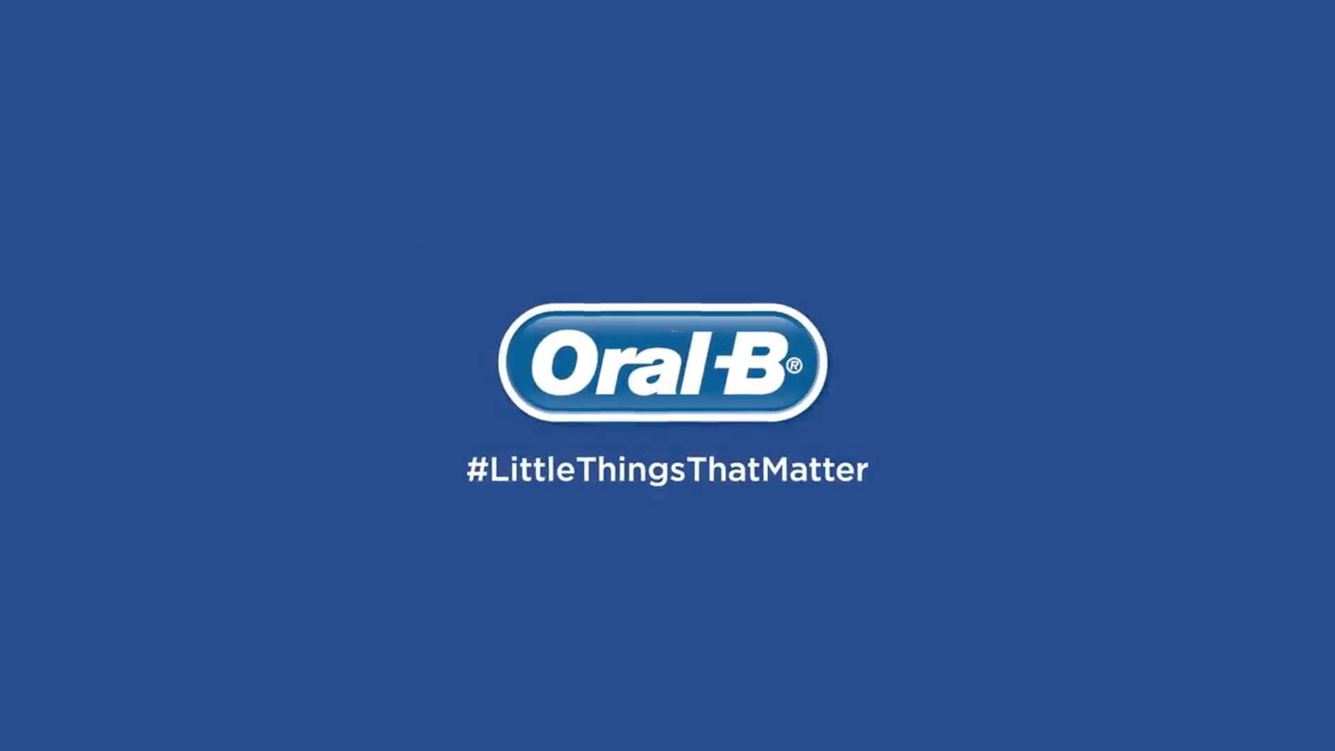 Oral-B  Little Things That Matter  Toothbrush  Electric Toothbrush