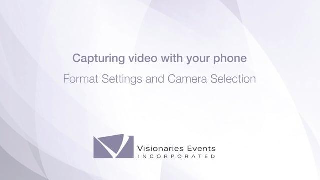 remote 4: format, camera
