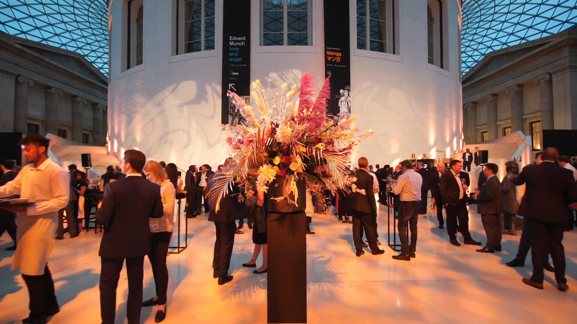 Espacio British Museum Reception   Event Concept Ltd.   UK