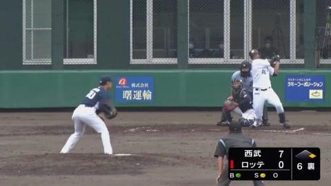 【2軍練習試合】マリーンズ・松田 反撃の2ランホームラン!! 2020/6/14 M-L(ファーム練習試合)