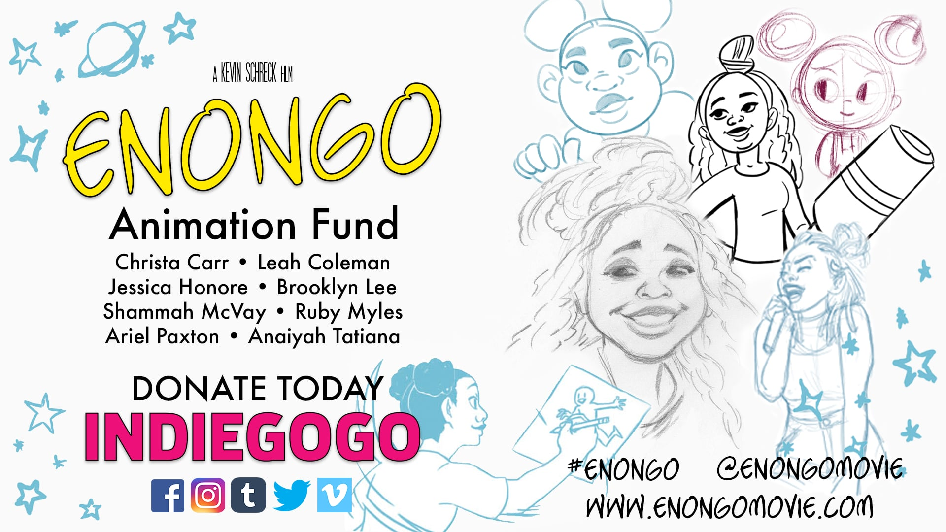 ENONGO - Animation Fund - Indiegogo Video