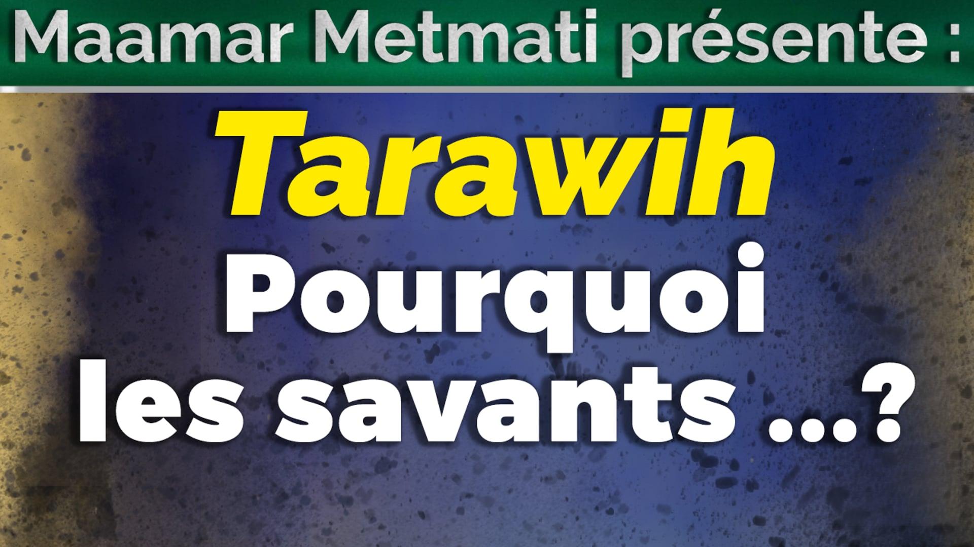 Pourquoi les savants... ? & Zakat el Fitr