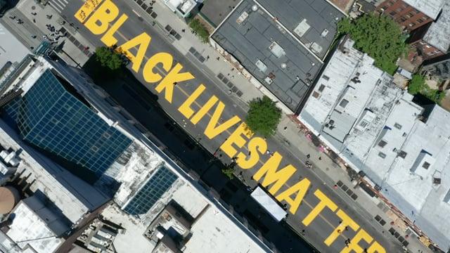 Brooklyn Black Lives Matter drone montage v2