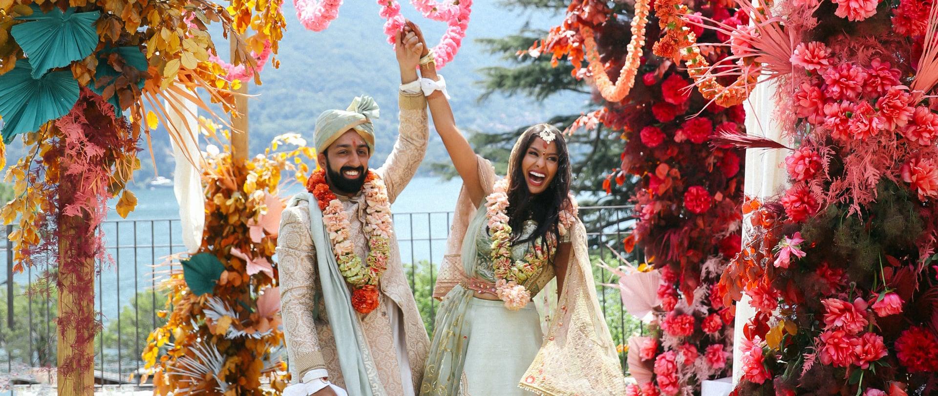 Neha & Shehryar Wedding Video Filmed at Lake Como, Italy