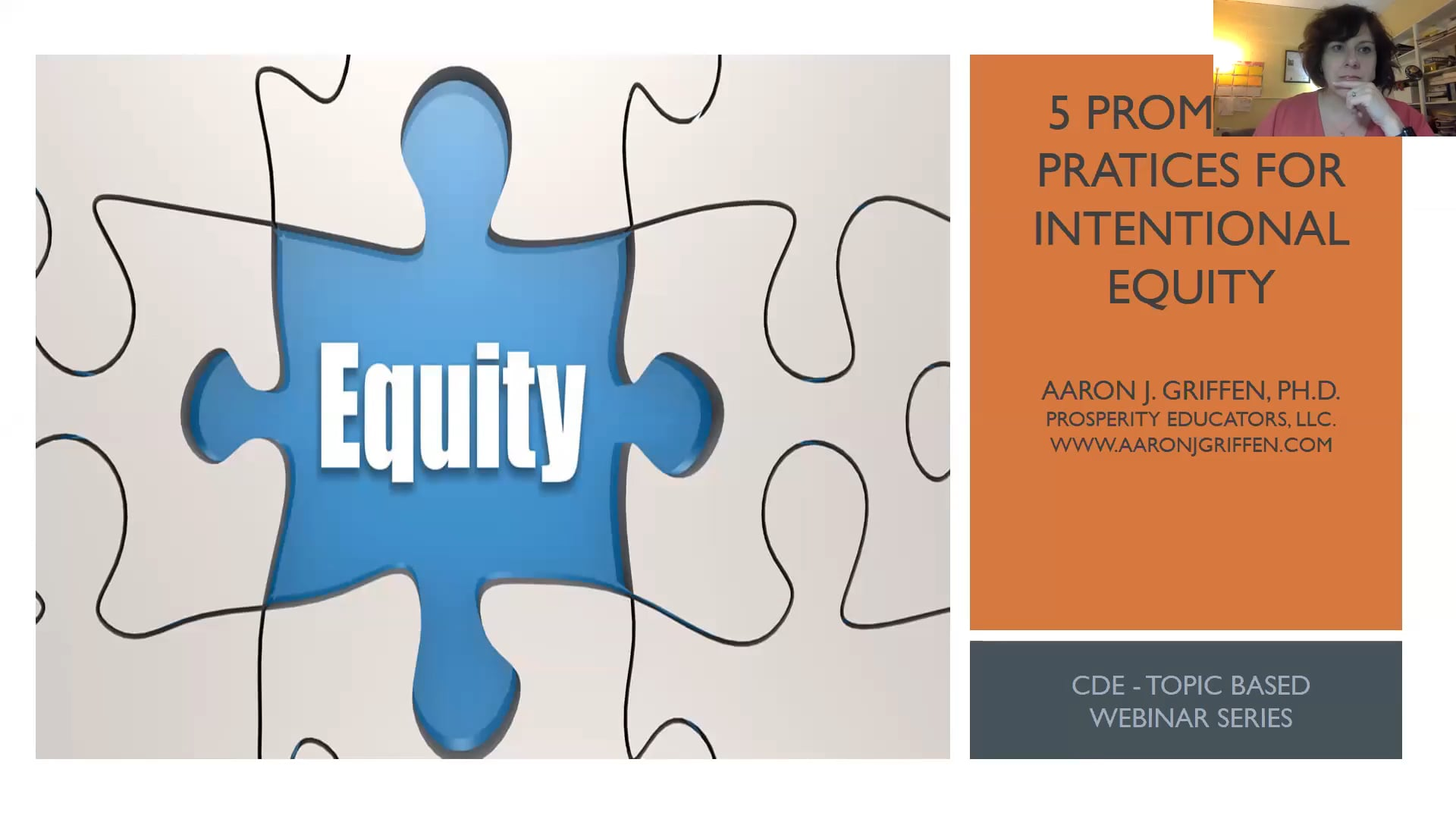 Five Promising Practices for Intentional Equity recorded on 3/10/2020