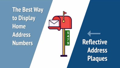 Thumbnail of video Reflective Address Plaques PSA