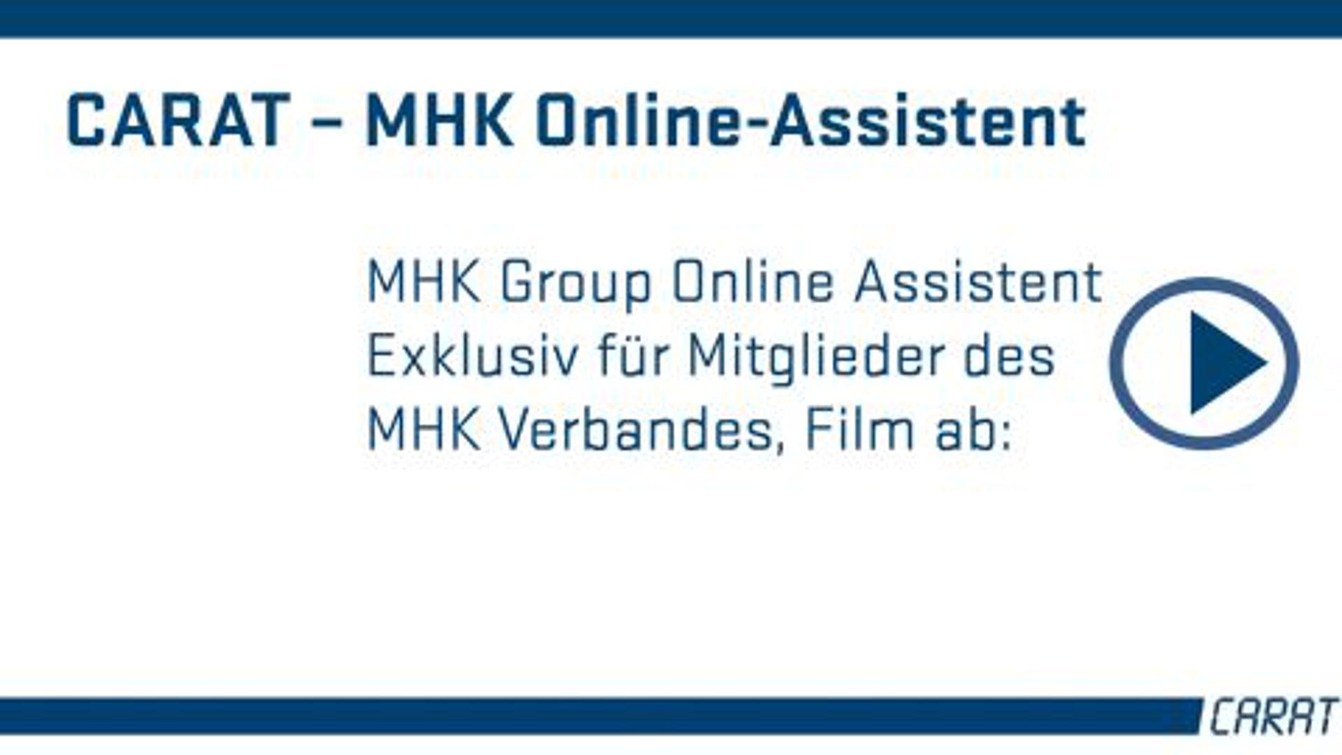 MHK Group Online Assistent