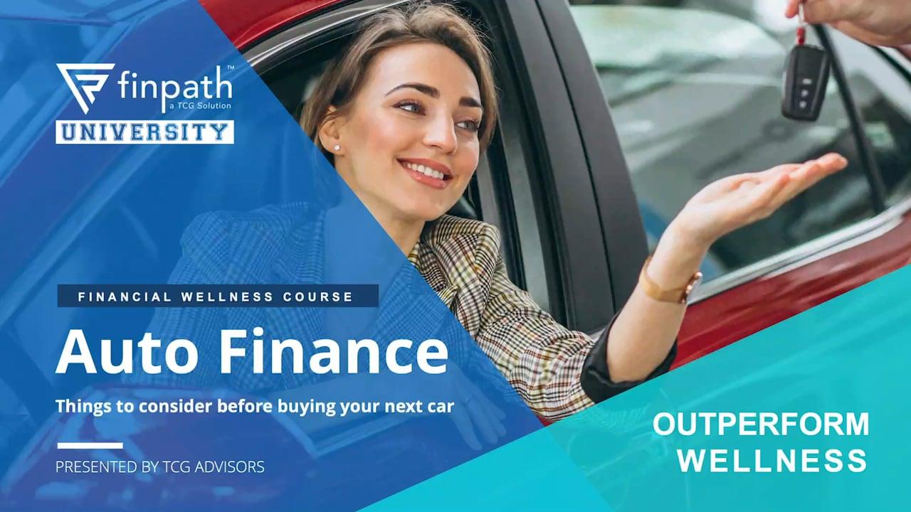 FinPath - Auto Loans - June 2020