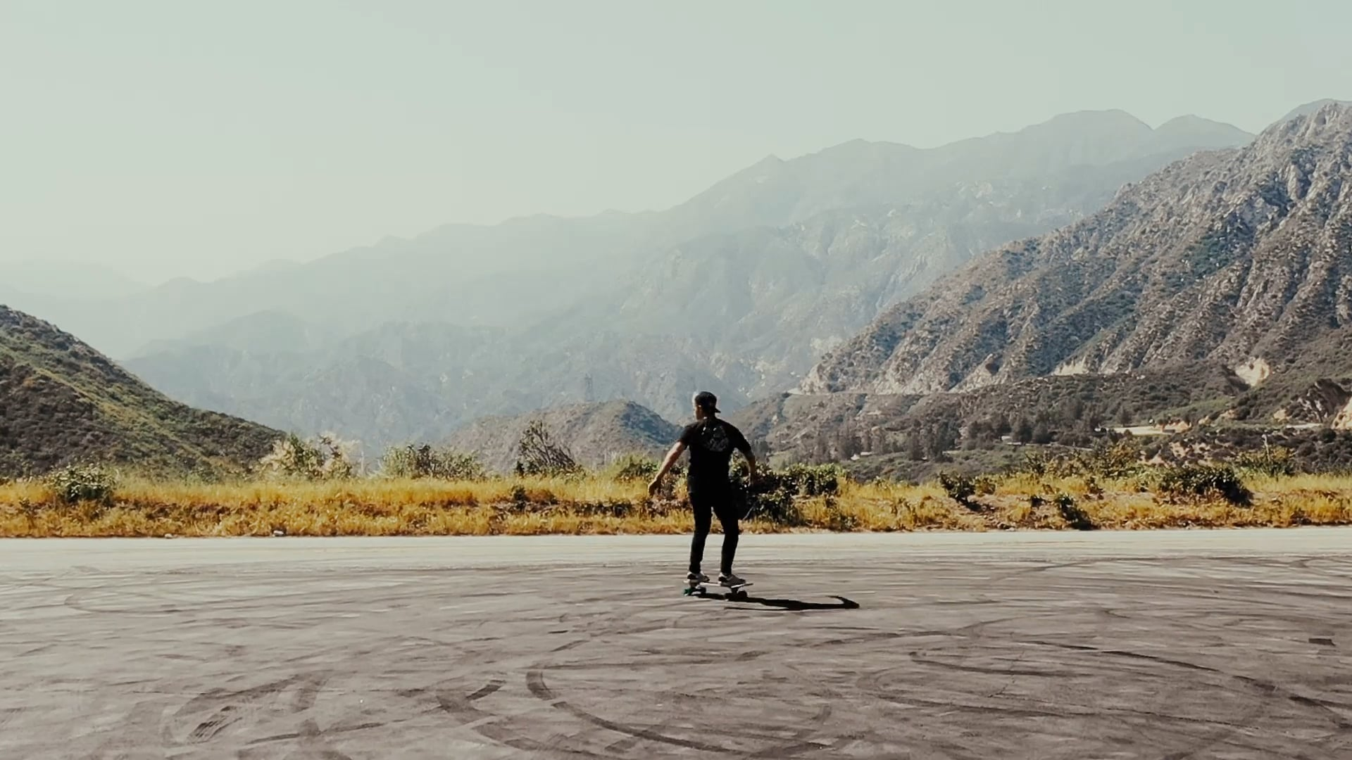 Skating in the San Gabriel Mountains