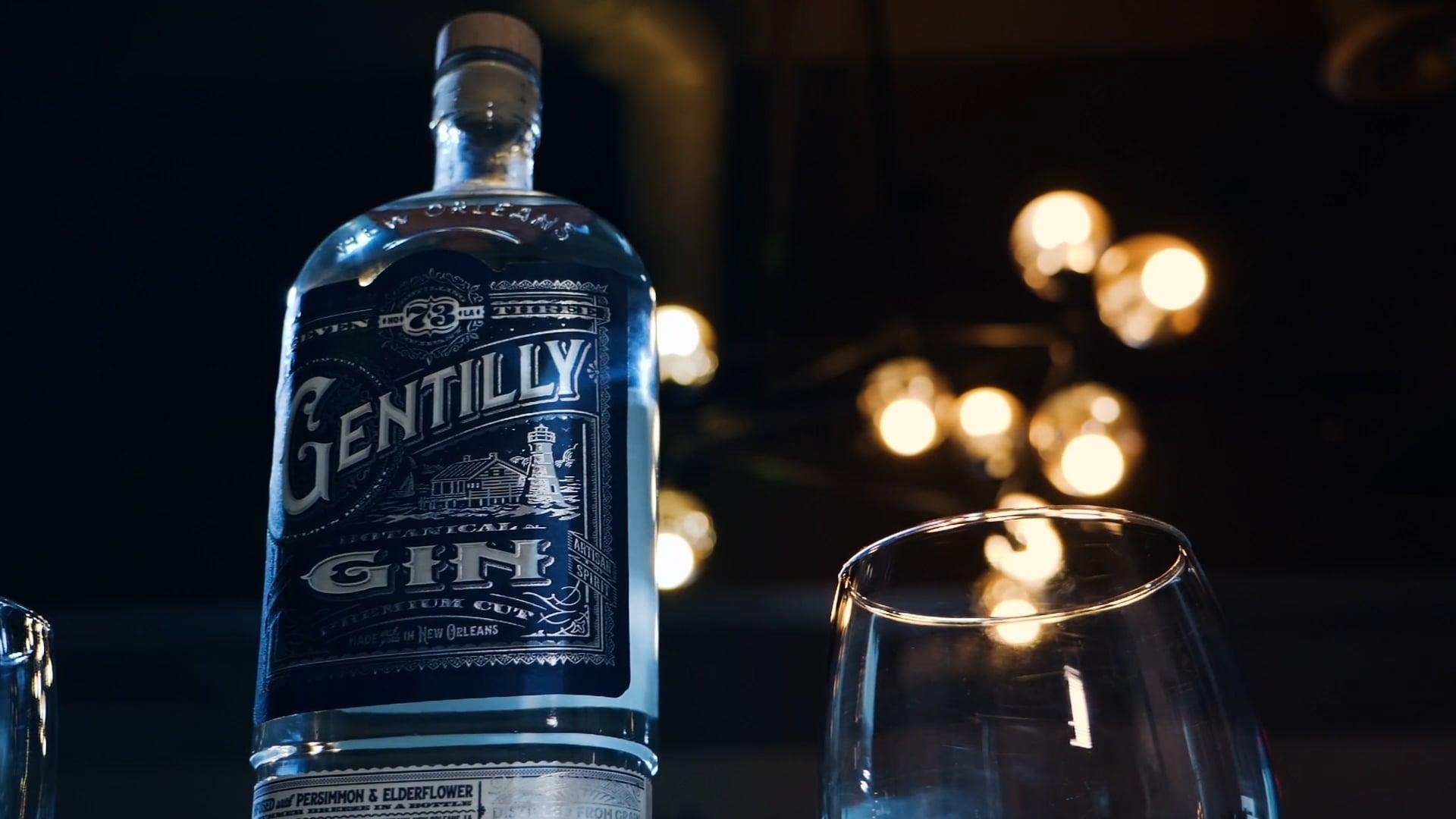 Seven Three Distilling - Gentilly Gin Advert