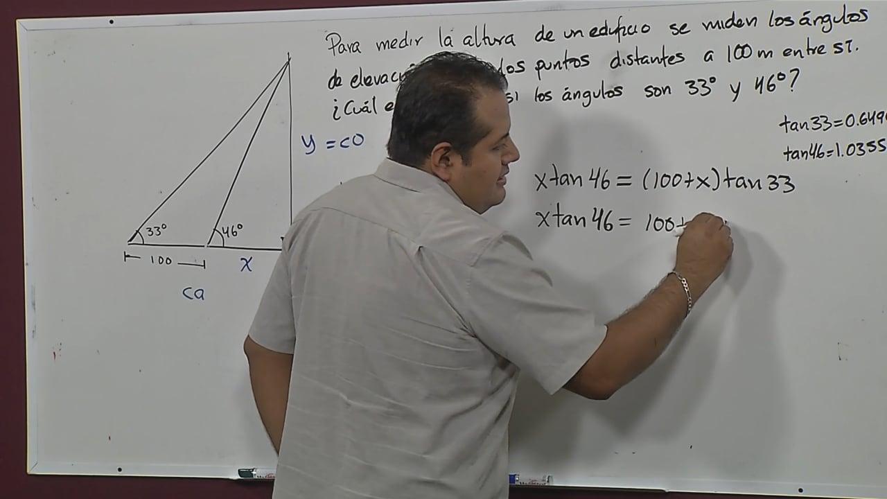Razones trigonométricas: seno, coseno y tangente