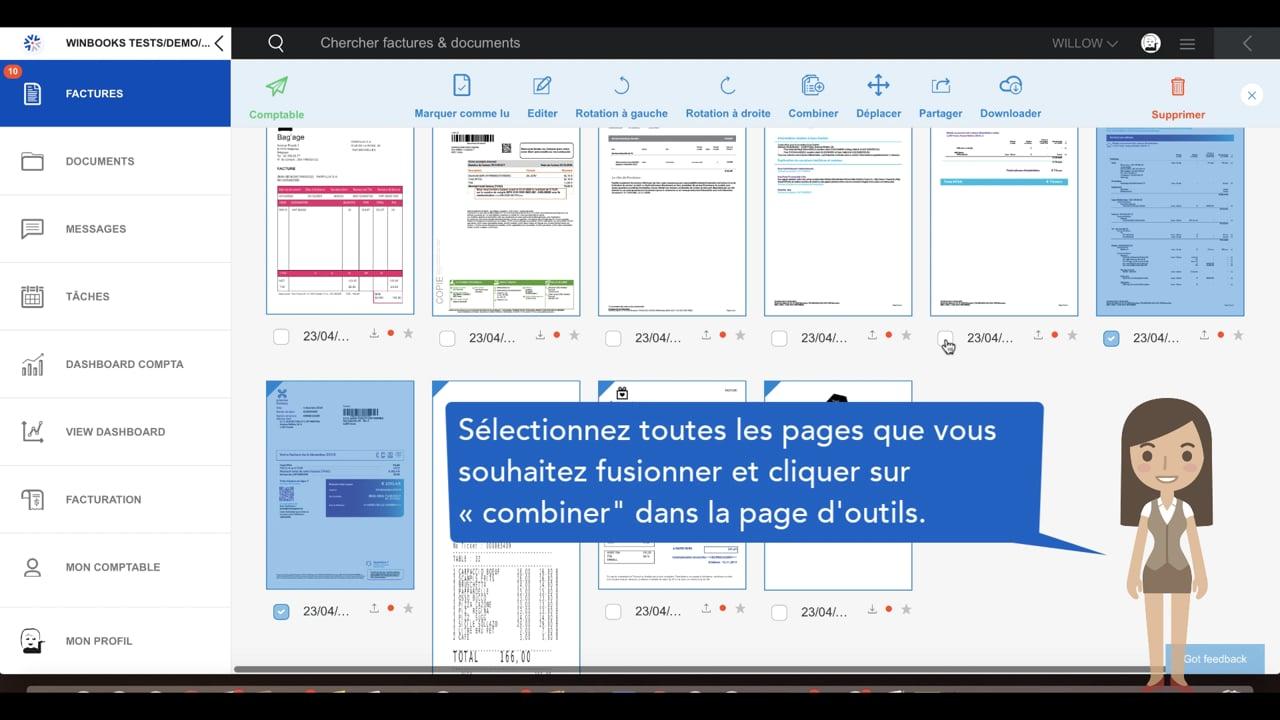 #tuto – Comment éditer vos factures sur la plateforme WinBooks Connect