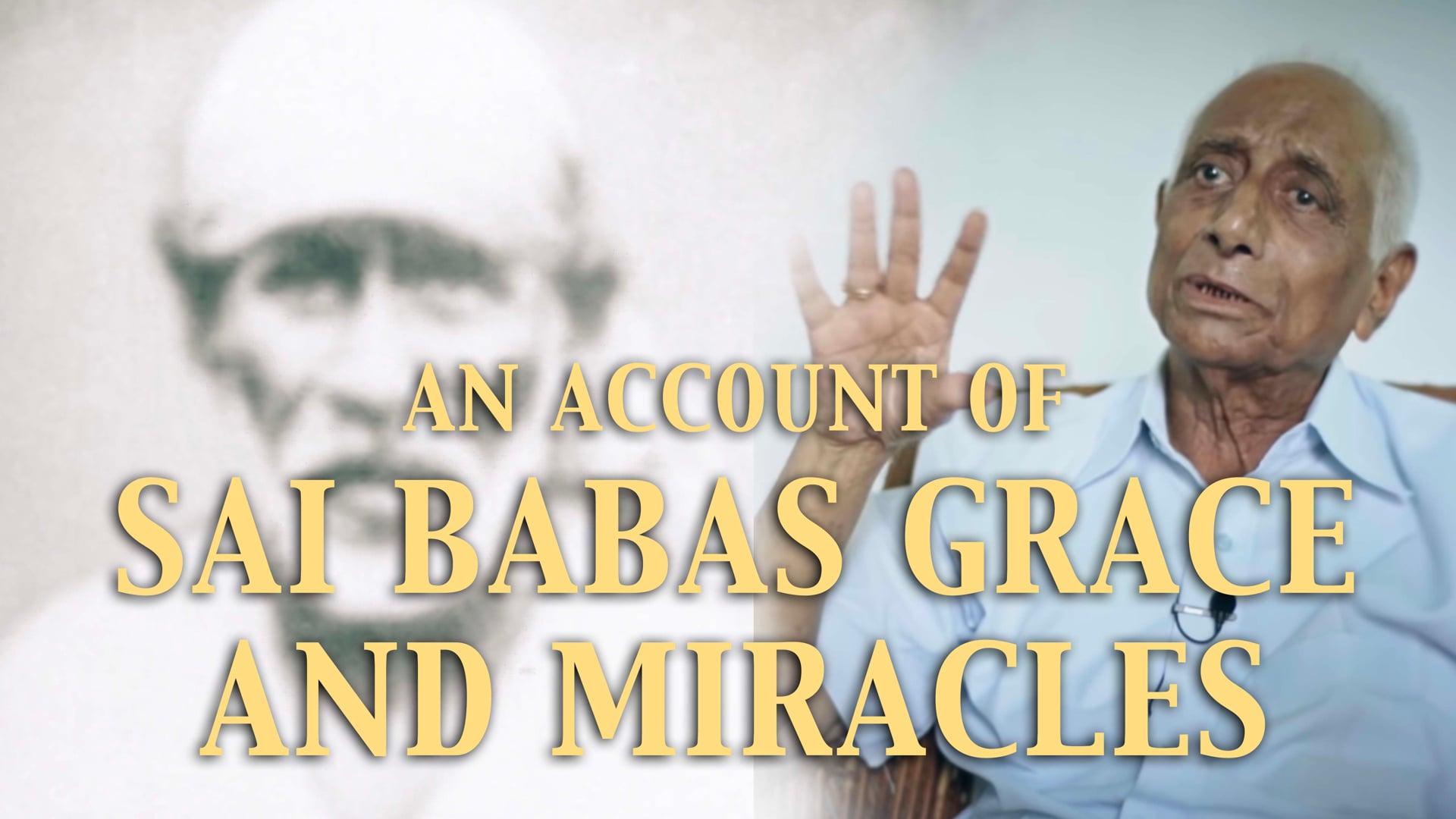 Masterji on Sai Baba's miracles and his life with Aai
