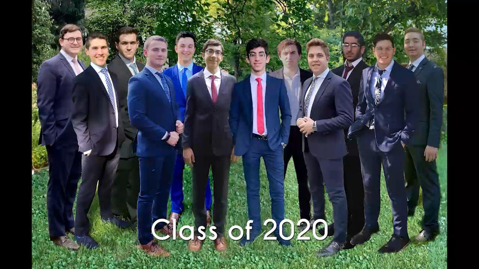 Class of 2020 Graduation Program